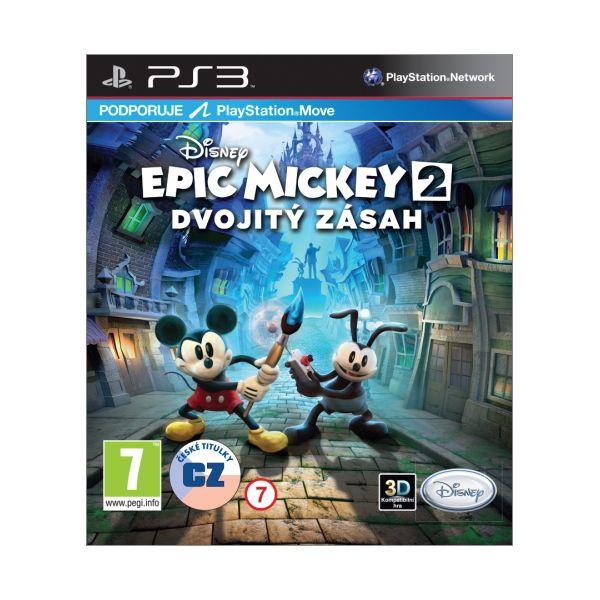 Epic Mickey 2: Dvojitý zásah CZ [PS3] - BAZÁR (použitý tovar)