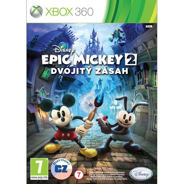 Epic Mickey 2: Dvojitý zásah CZ [XBOX 360] - BAZÁR (použitý tovar)