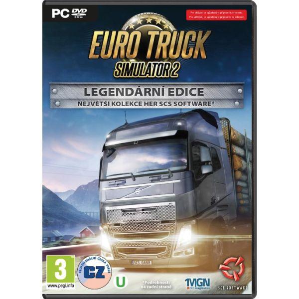 Euro Truck Simulator 2 CZ (Legendárna edícia)