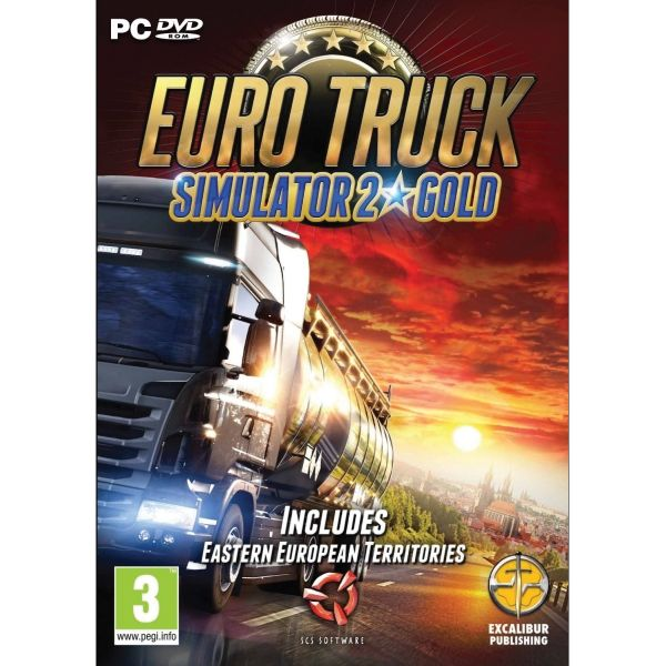 Euro Truck Simulator 2 (Gold) PC