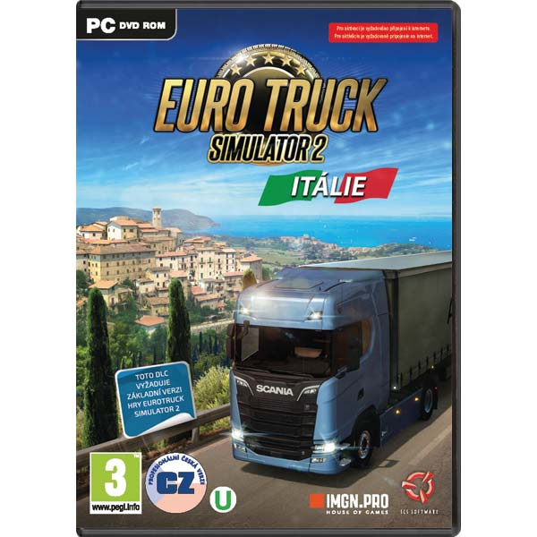 Euro Truck Simulator 2: Italia CZ