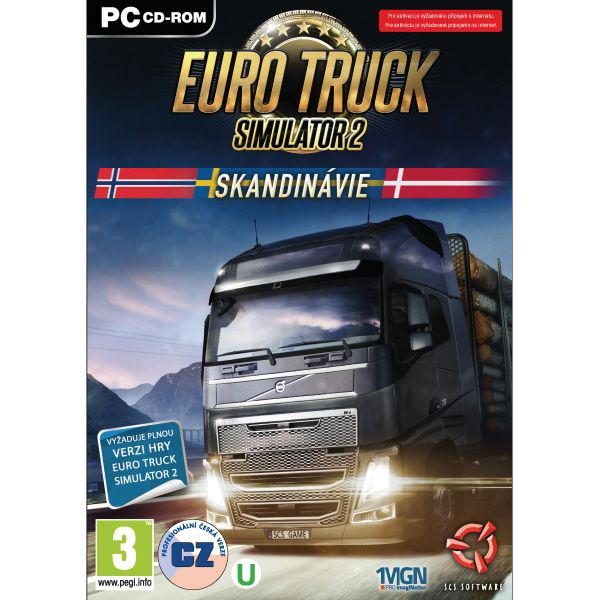 Euro Truck Simulator 2: Škandinávia CZ