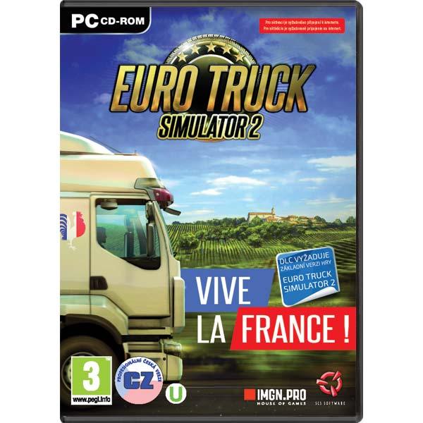 Euro Truck Simulator 2: Vive la France! CZ PC