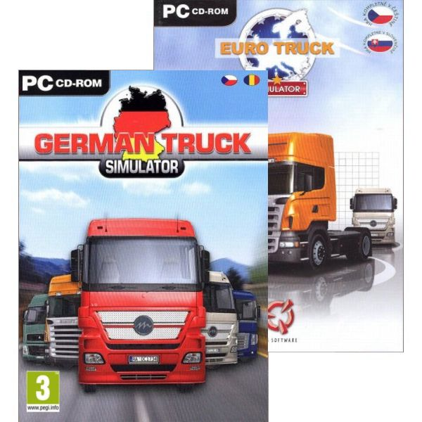 Euro Truck Simulator CZ + German Truck Simulator CZ