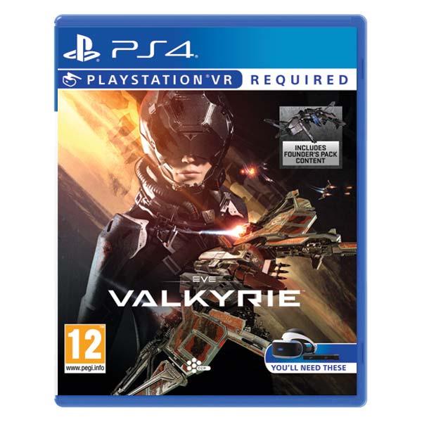 EVE: Valkyrie [PS4] - BAZÁR (použitý tovar)