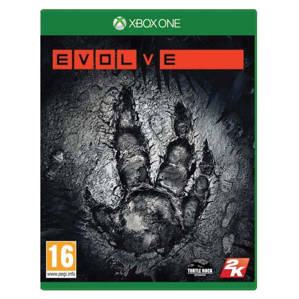 Evolve [XBOX ONE] - BAZÁR (použitý tovar)