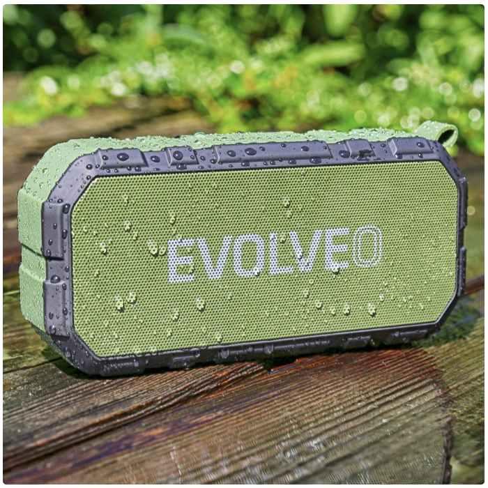 EVOLVEO Armor FX6, outdoorový Bluetooth reproduktor, BlackGreen