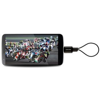 Evolveo XtraTV Stick - DVB-T tuner pre Android s microUSB konektorom - OPENBOX (rozbalený tovar s plnou zárukou)
