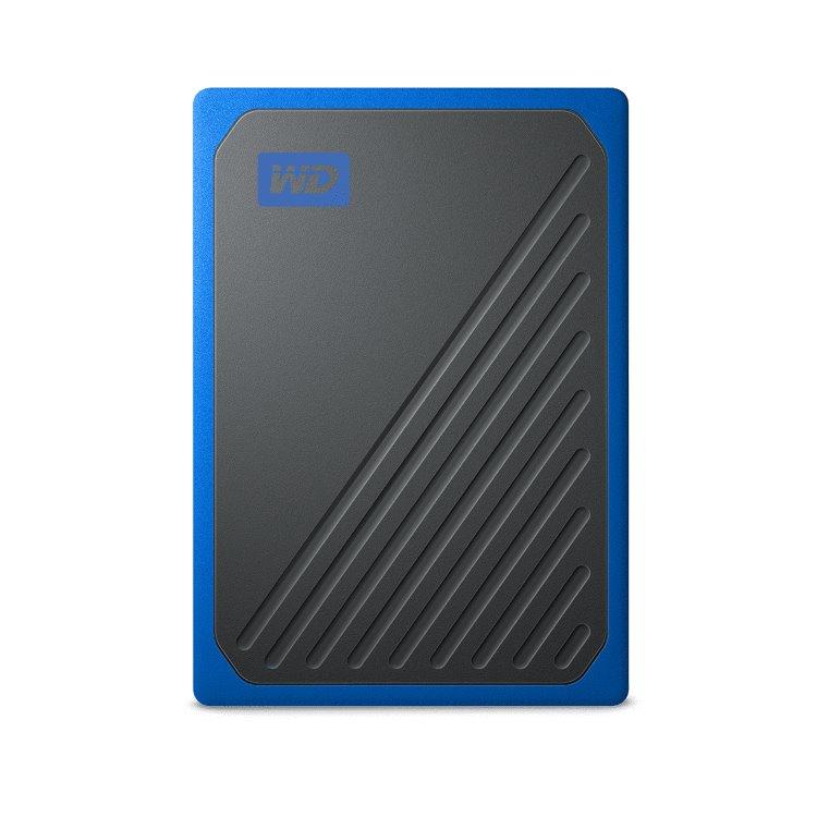 Western Digital SSD My Passport GO, 1TB, USB 3.0, Blue (WDBMCG0010BBT-WESN) WDBMCG0010BBT-WESN