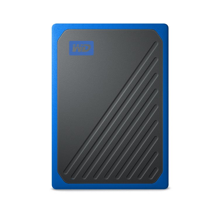 Western Digital SSD My Passport GO, 500GB, USB 3.0, Blue (WDBMCG5000ABT-WESN) WDBMCG5000ABT-WESN