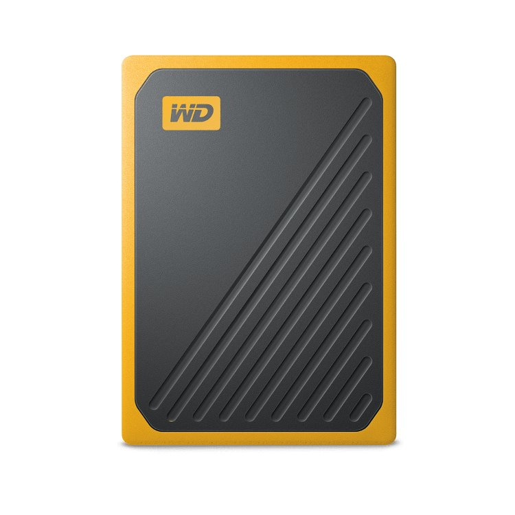 Western Digital SSD My Passport GO, 500GB, USB 3.0, Yellow (WDBMCG5000AYT-WESN) WDBMCG5000AYT-WESN