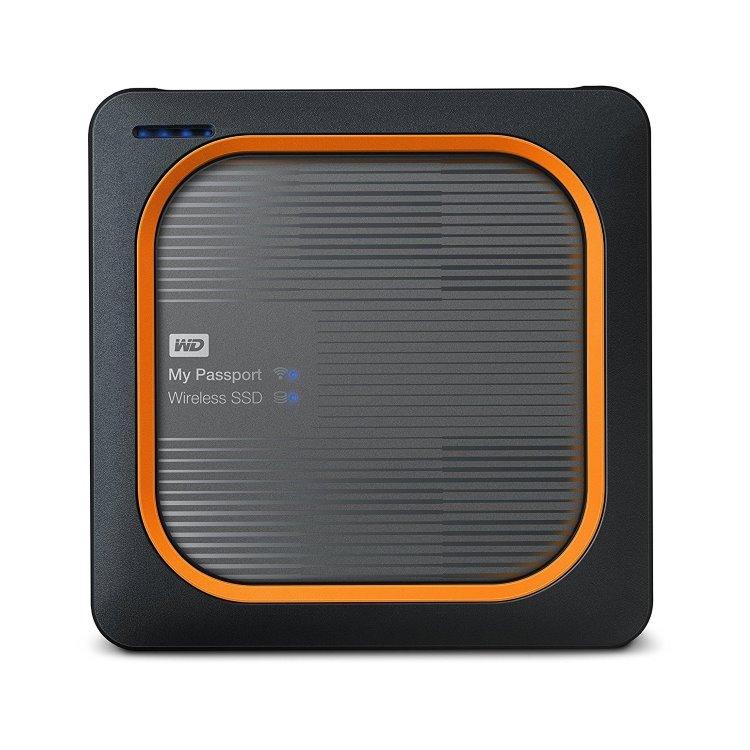 Western Digital SSD My Passport Wireless, 2TB, USB 3.0 (WDBAMJ0010BGY-EESN)) WDBAMJ0020BGY-EESN