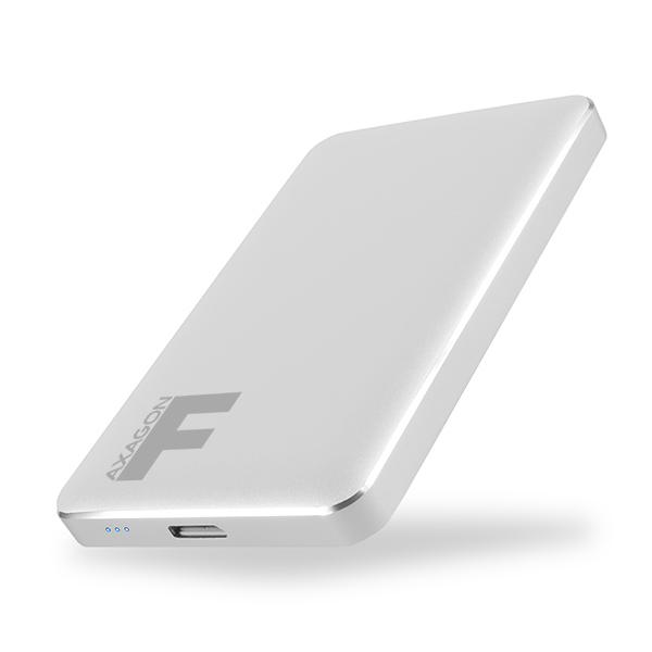 Externý box Axagon EE25-F6S USB 3.0 Fullmetal Box, silver EE25-F6S