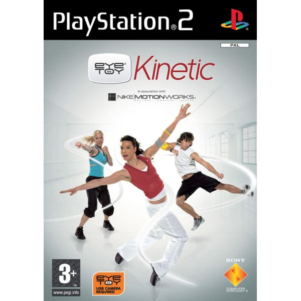 EyeToy: Kinetic + kamera