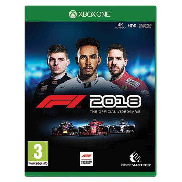 F1 2018: The Official Videogame XBOX ONE