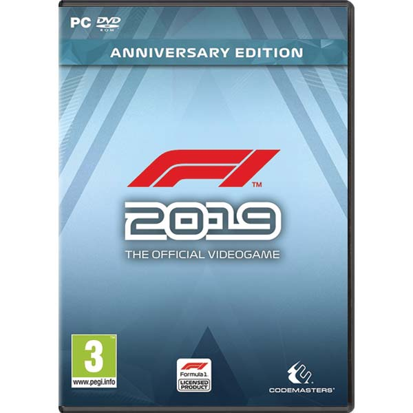 F1 2019: The Official Videogame (Anniversary Edition) CD-Key