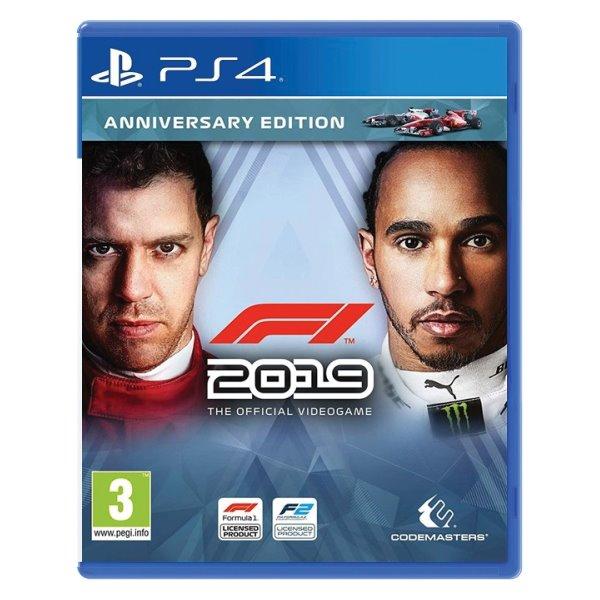 F1 2019: The Official Videogame (Anniversary Edition) [PS4] - BAZÁR (použitý tovar)