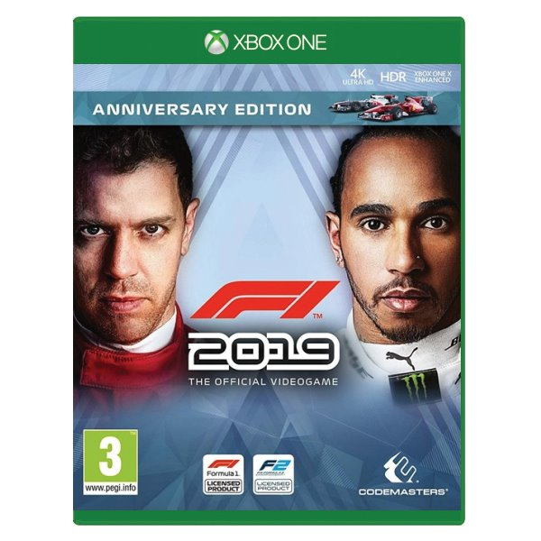 F1 2019: The Official Videogame (Anniversary Edition) XBOX ONE