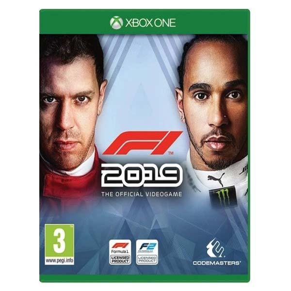 F1 2019: The Official Videogame [XBOX ONE] - BAZÁR (použitý tovar)