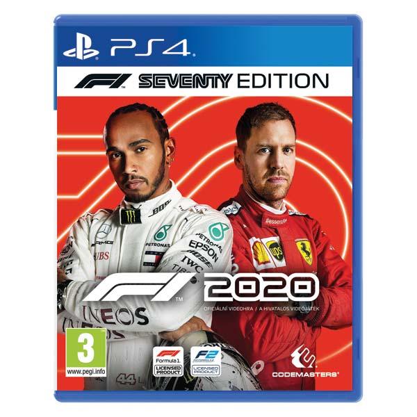 F1 2020: The Official Videogame (Seventy Edition) [PS4] - BAZÁR (použitý tovar)