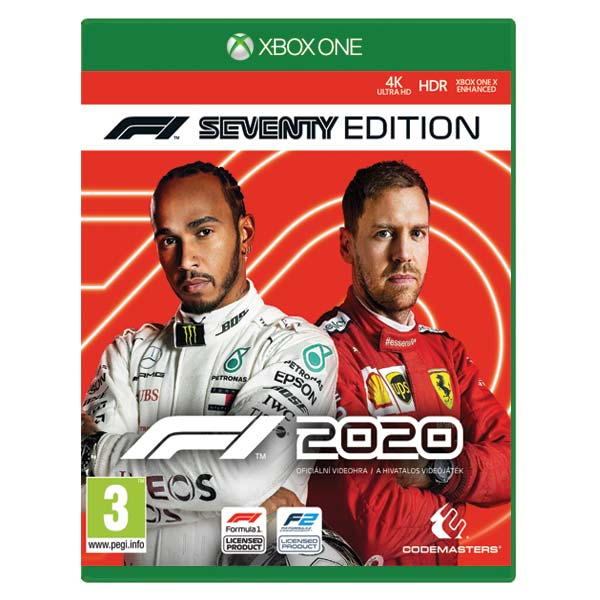 F1 2020: The Official Videogame (Seventy Edition) XBOX ONE