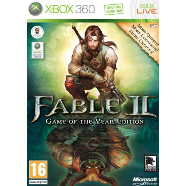 Fable 2 CZ (Game of the Year Edition) XBOX 360