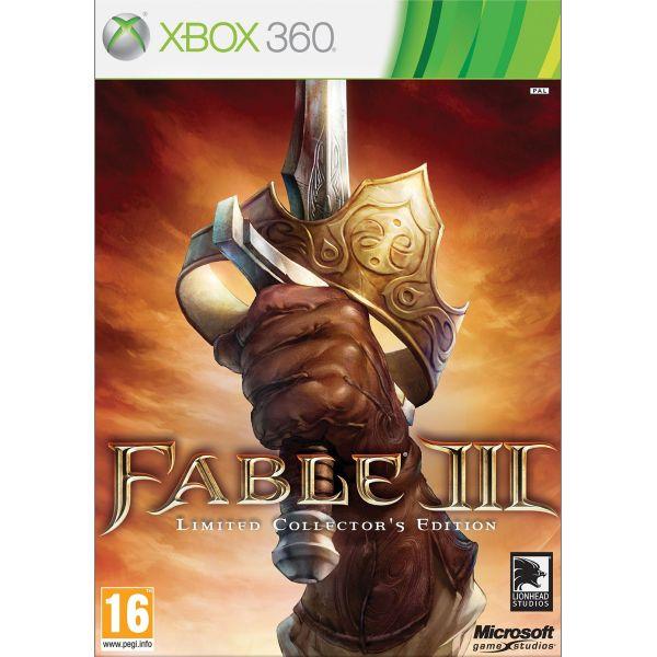 Fable 3 CZ (Limited Collector's Edition) [XBOX 360] - BAZÁR (použitý tovar)