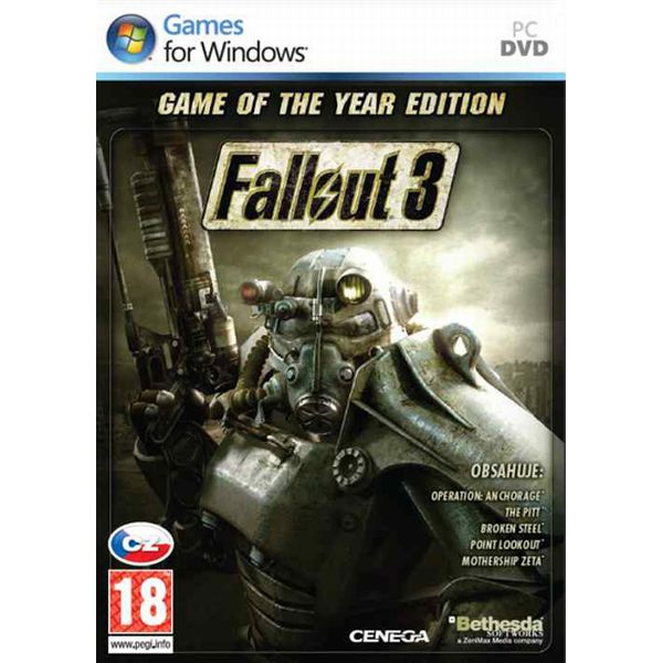Fallout 3 CZ (Game of the Year Edition)
