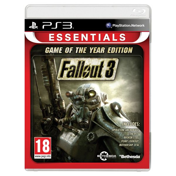 Fallout 3 (Game of the Year Edition) [PS3] - BAZÁR (použitý tovar)