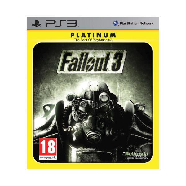 Fallout 3-PS3 - BAZÁR (použitý tovar)