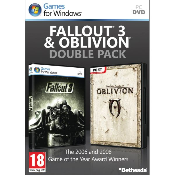 Fallout 3 & The Elder Scrolls 4: Oblivion (Double Pack)