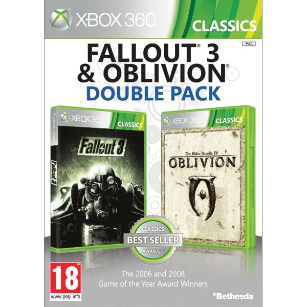 Fallout 3 & The Elder Scrolls 4: Oblivion (Double Pack)