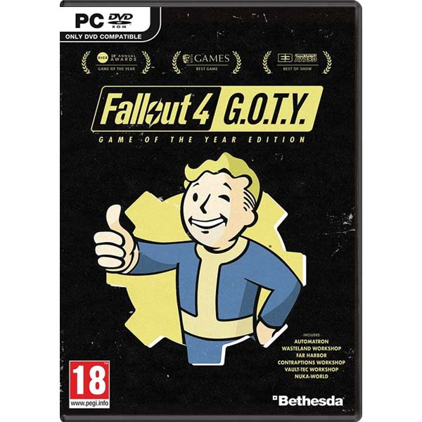 Fallout 4 (Game of the Year Edition) PC CD-key