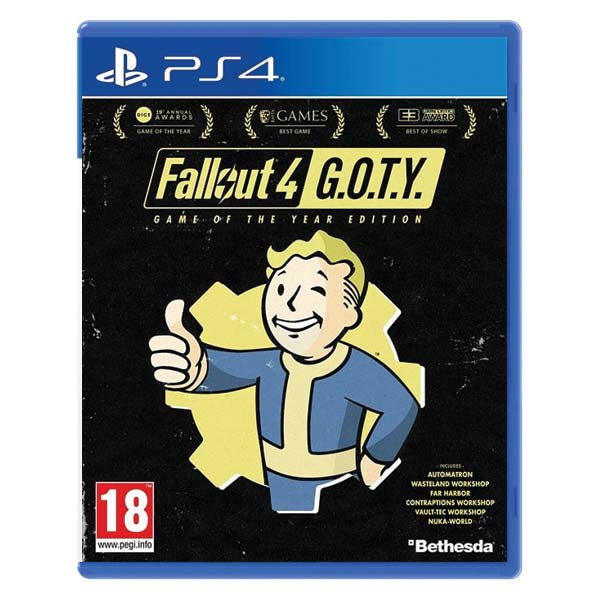 Fallout 4 (Game of the Year Edition) PS4