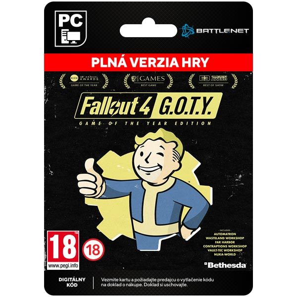 Fallout 4 Game of the Year Edition [Steam]