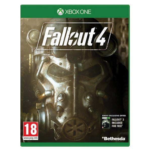 Fallout 4 [XBOX ONE] - BAZÁR (použitý tovar)
