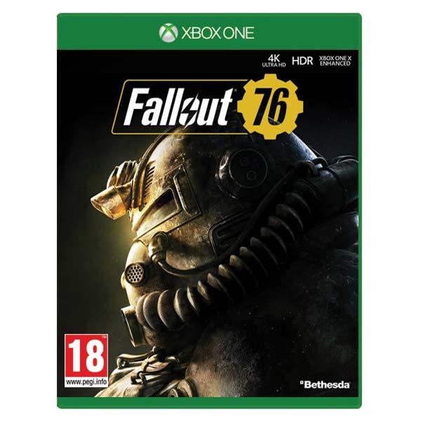 Fallout 76 [XBOX ONE] - BAZÁR (použitý tovar)