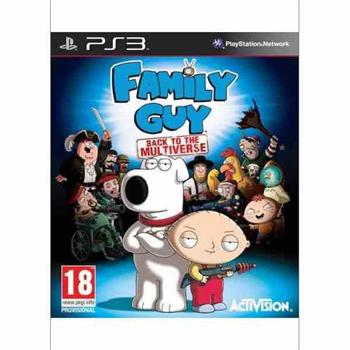 Family Guy: Back to the Multiverse [PS3] - BAZÁR (použitý tovar)