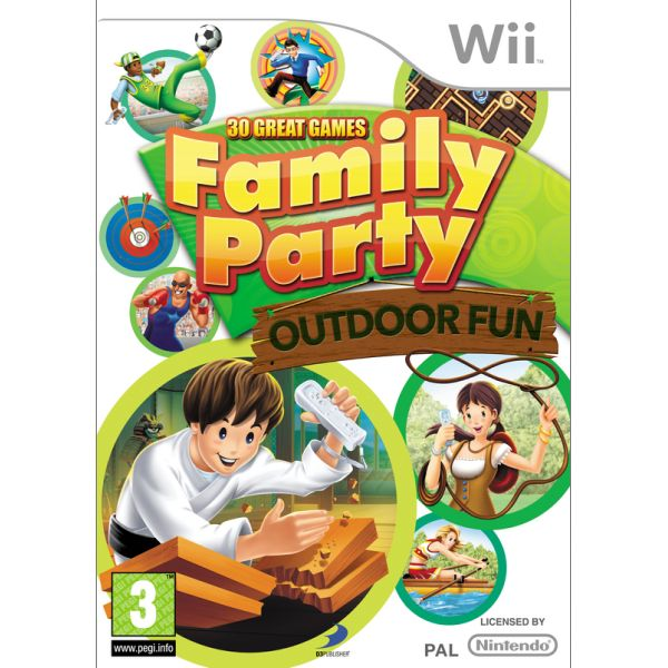 Family Party: Outdoor Fun Wii
