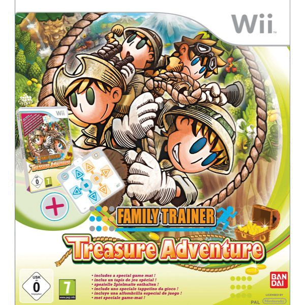 Family Trainer: Treasure Adventure + podložka