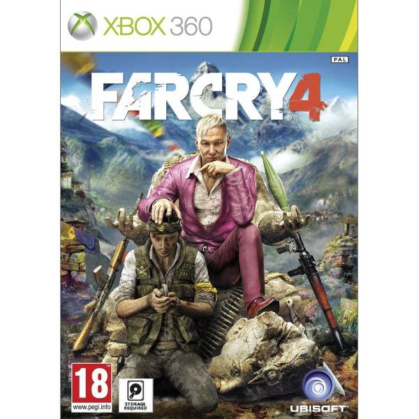Far Cry 4 cz + Far Cry 3 cz [XBOX 360] - BAZÁR (použitý tovar)