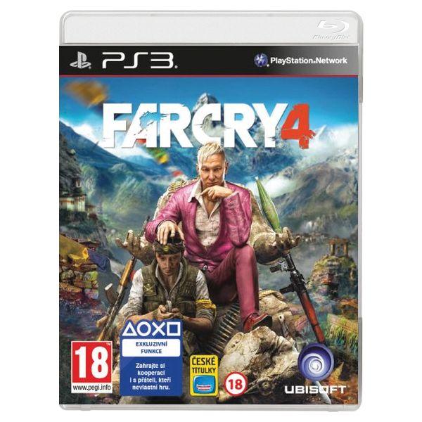 Far Cry 4 CZ [PS3] - BAZÁR (použitý tovar)