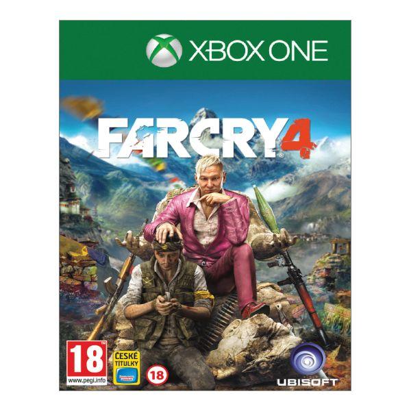 Far Cry 4 CZ [XBOX ONE] - BAZÁR (použitý tovar)