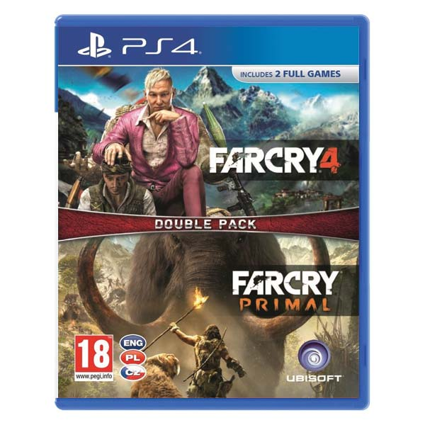 Far Cry 4 + Far Cry: Primal CZ (Double Pack)