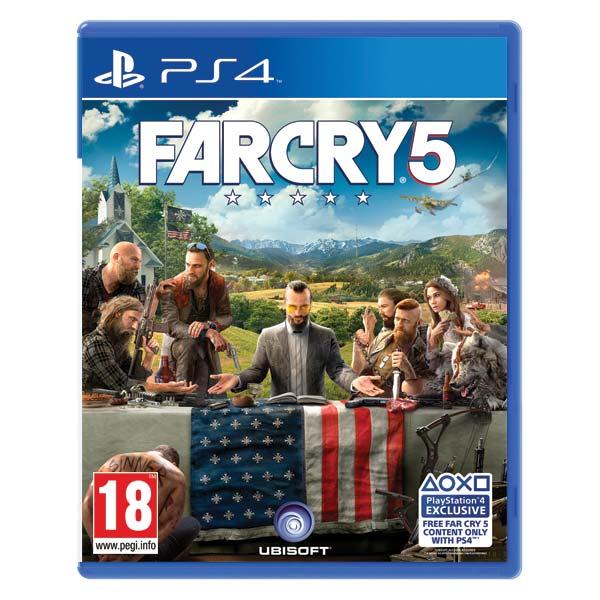 Far Cry 5 CZ [PS4] - BAZÁR (použitý tovar)