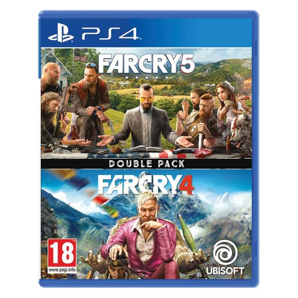 Far Cry 5 & Far Cry 4 (Double Pack)