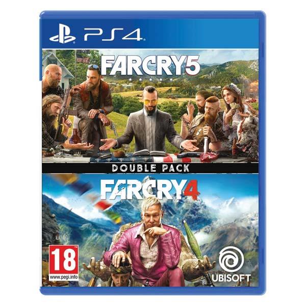 Far Cry 5 & Far Cry 4 (Double Pack) [PS4] - BAZÁR (použitý tovar)