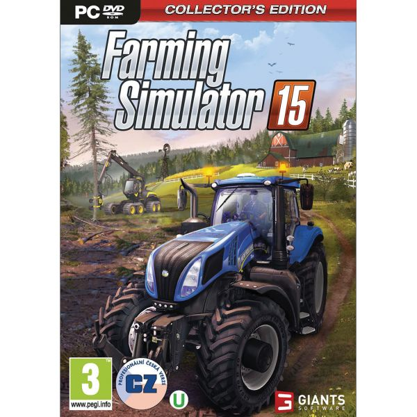 Farming Simulator 15 CZ (Collector�s Edition)