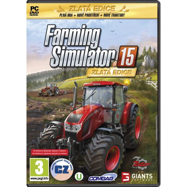 Farming Simulator 15 CZ (Zlatá Edícia)