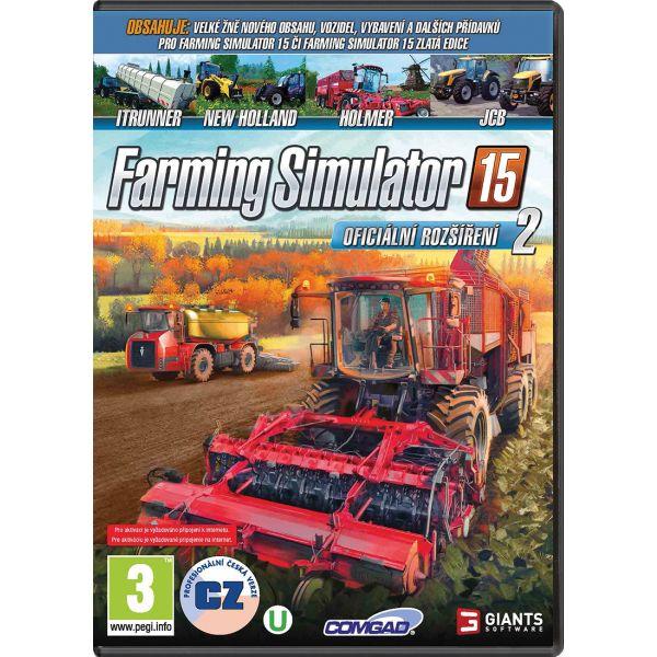 Farming Simulator 15: Oficiálne rozšírenie 2 CZ